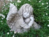 Angelina angel garden statue thumbnail