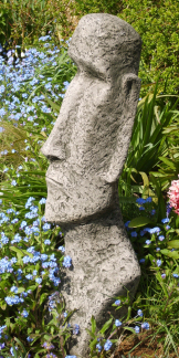 Moai: a stone statue inspired by the famous Easter Island heads